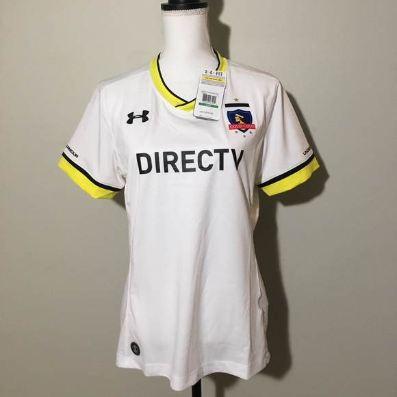 """newest 68ada 3fc47 •NWT Under Armour• Womans""""colo-colo"""" jersey Large NWT"""
